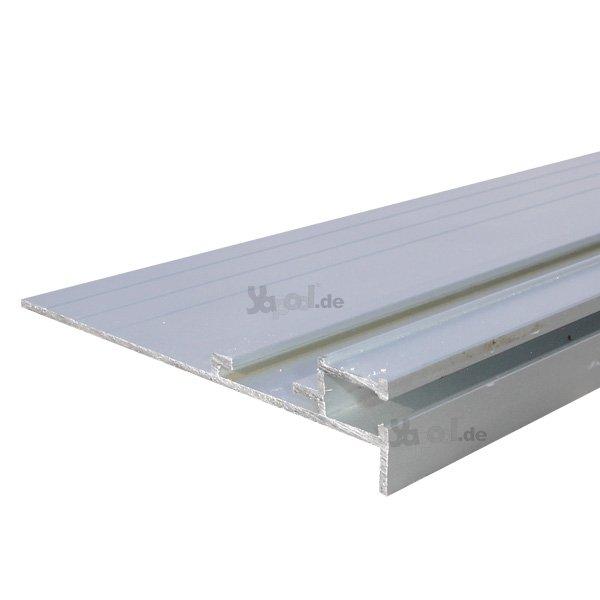 Aluminium alu einhangleiste starr 1 lfm f r pool folie for Folie schwimmbad