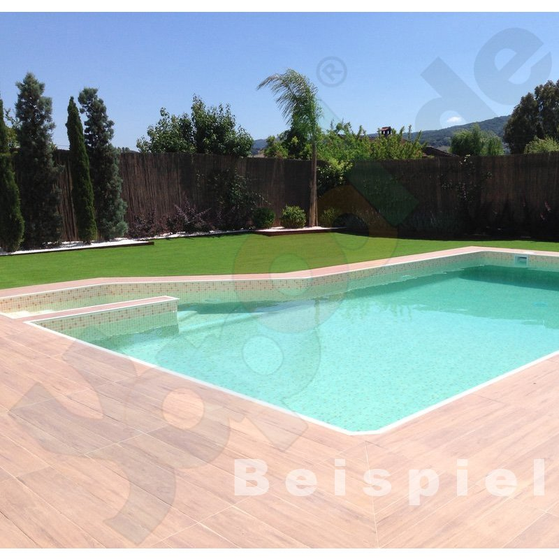 Elbeblueline schwimmbadfolie sbgd160 rolle 1 65 x 25 m for Pool gewebefolie