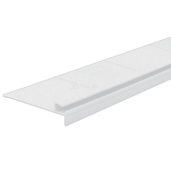 pvc einhangleiste flexibel farbe wei 1 lfm f pool folie innenh lle m keilbiese. Black Bedroom Furniture Sets. Home Design Ideas
