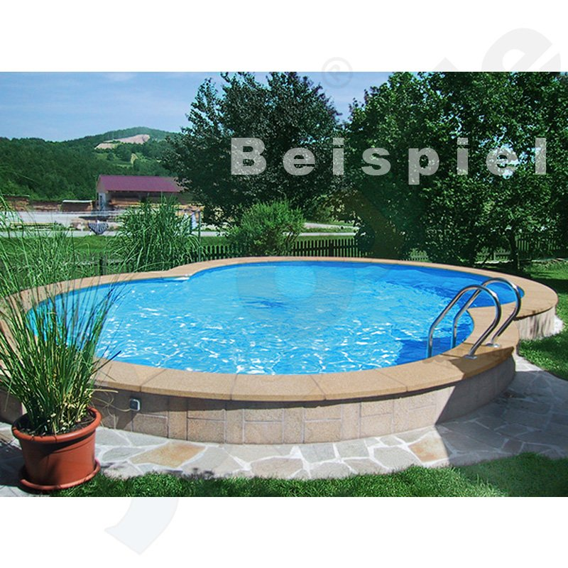 pool beckenrandsteine beton achtformbecken 3 6 x 6 25 m gerade sandfarben. Black Bedroom Furniture Sets. Home Design Ideas