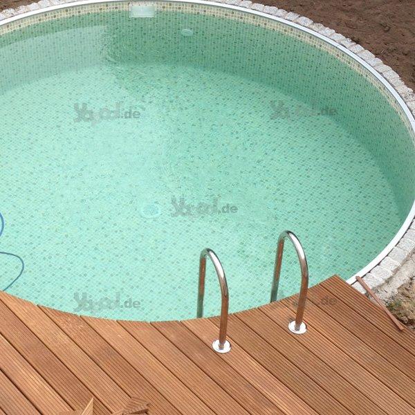 poolleiter auf holz befestigen schwimmbad und saunen. Black Bedroom Furniture Sets. Home Design Ideas