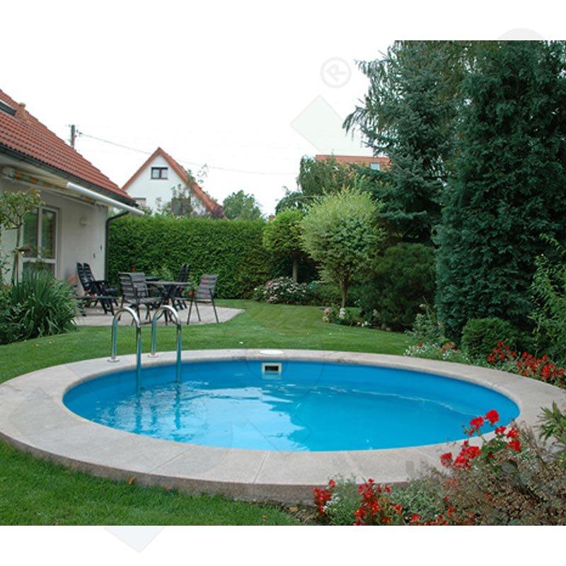 Premium pool paket a rundbecken rundpool profi fun 3 2 x 1 for Pool rundbecken