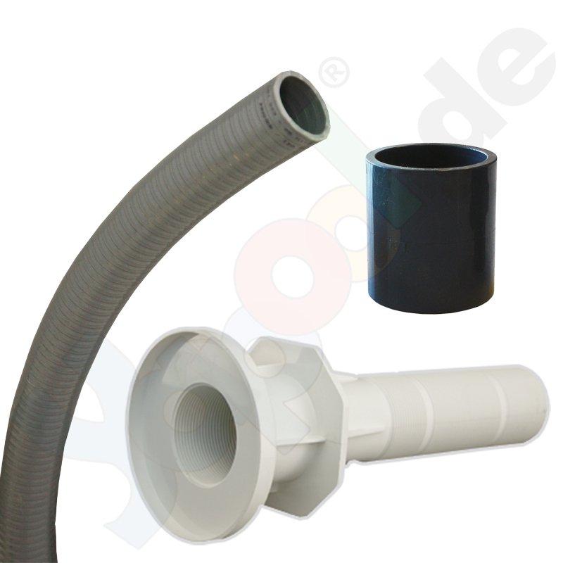 yapool wand einbauset f r unterwasserscheinwerfer mit mini einbaunische schwimmbad. Black Bedroom Furniture Sets. Home Design Ideas