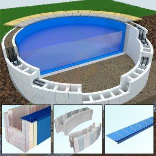 Schwimmbecken schwimmbad pool schwimmbad zubeh r for Garten pool 2m tief