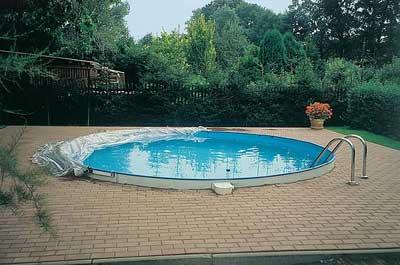 cabrio dome pool abdeckung f r rundbecken 600 cm ebay. Black Bedroom Furniture Sets. Home Design Ideas