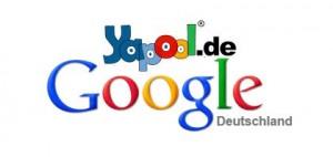 Yapool vs. Google Farben