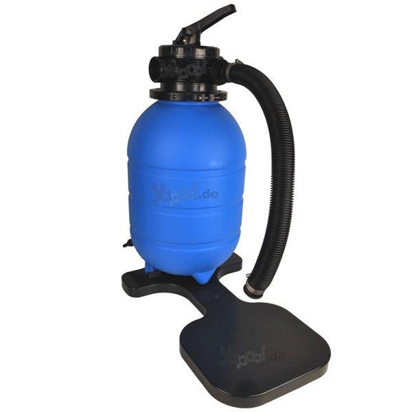 pool sandfilter filterkessel 400mm 4 wege ventil yapool. Black Bedroom Furniture Sets. Home Design Ideas