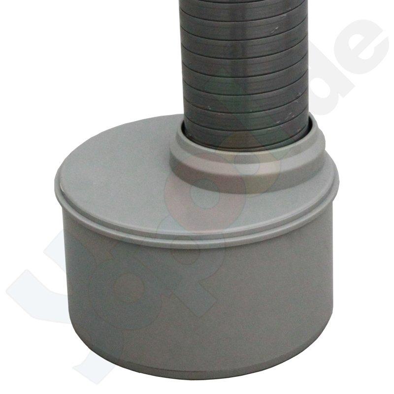 Ht reduzierung kanalrohr reduzierung dn 100 x 50 mm for Couchtisch 100 x 50