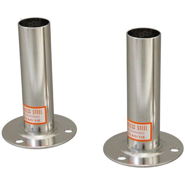 1 Paar Leiterfüße Aufstell und Einbaubeckenleitern