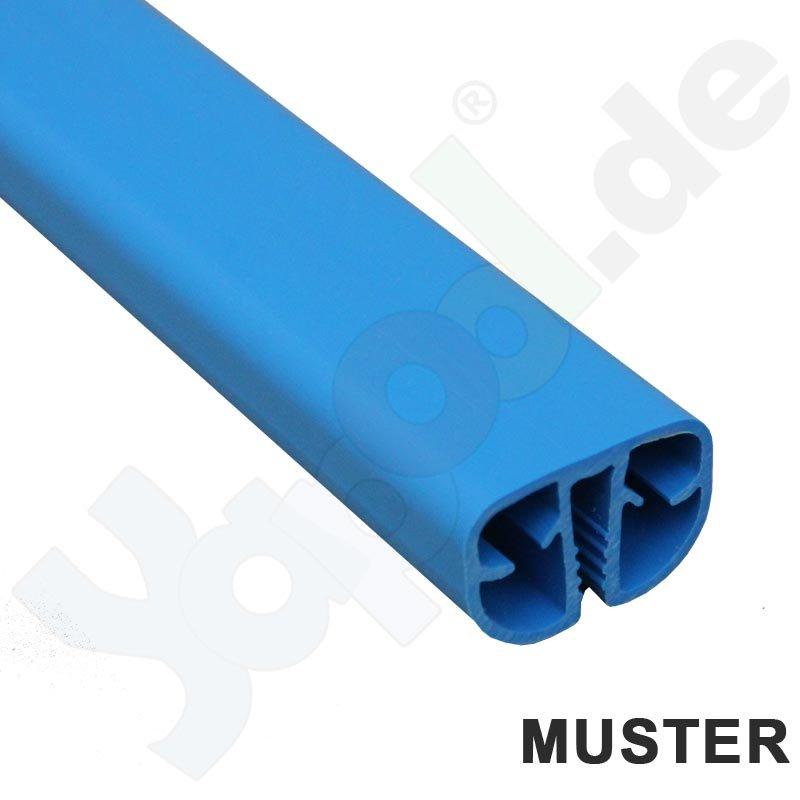 Muster pvc standard handlauf blau ca 15 cm von stahlwand for Gewebefolie pool