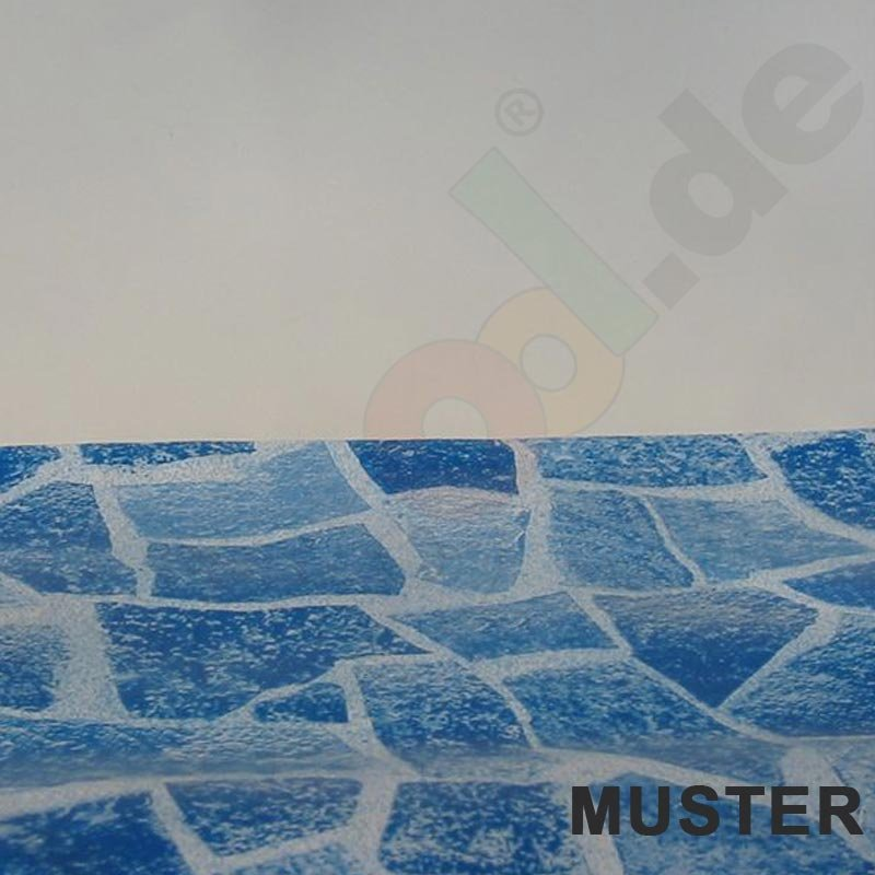 Muster pool pvc folie 0 8 mm trend modern for Gewebefolie pool