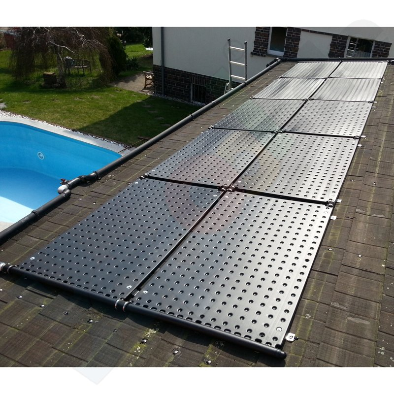 oku pool solar absorber 1000 1 sammelrohr 1 08 m schwimmbad online shop. Black Bedroom Furniture Sets. Home Design Ideas