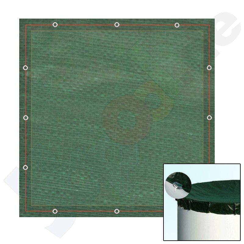 peb pool abdeckplane winterabdeckplane plane f r rechteckbecken 8 0 x 4 0 m. Black Bedroom Furniture Sets. Home Design Ideas
