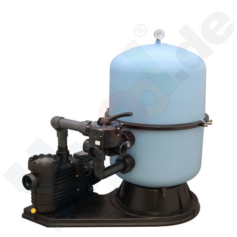 Profi side 500 sandfilteranlage sandfilter 6 wege ventil for Obi sandfilter