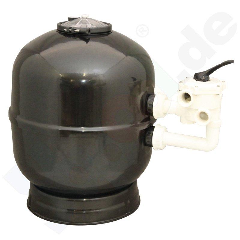 sandfilter praher filterkessel mit 6 wege ventil ohne. Black Bedroom Furniture Sets. Home Design Ideas