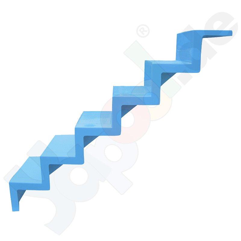 Reku universalpooltreppe zum nachtr glichen einbau 5 for Stahlwand einbaupool