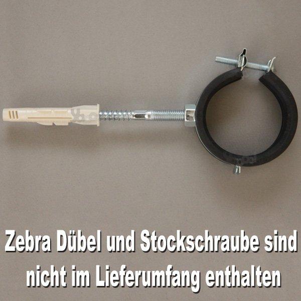 Bevorzugt Rohrschelle mit Gummieinlage M8 für Rohr 50 mm kaufen -   Yapool. ZB38