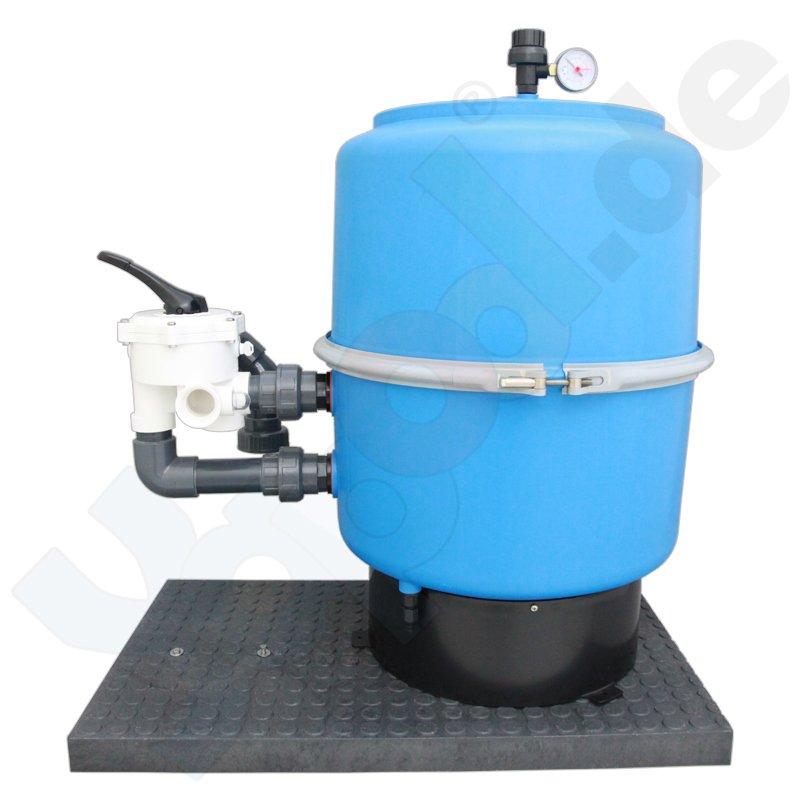 Pool sandfilter filterkessel 500mm 6 wege ventil schwimmbad online shop - Pool rechteckig mit pumpe ...