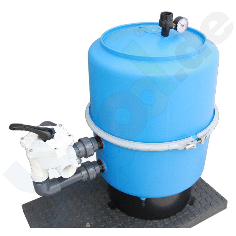 Pool Sandfilter Filterkessel 500mm 6 Wege Ventil  Yapool de ~ 01175401_Gartenteich Ohne Pumpe Und Filter