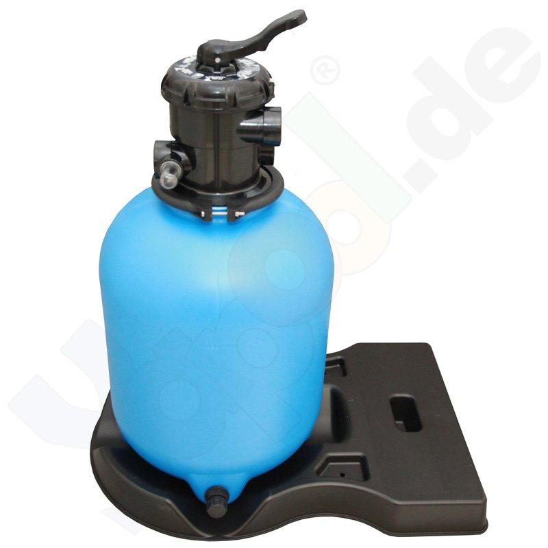 Pool Sandfilter Filterkessel 300mm 6 Wege Ventil  Yapool de ~ 01175401_Gartenteich Ohne Pumpe Und Filter