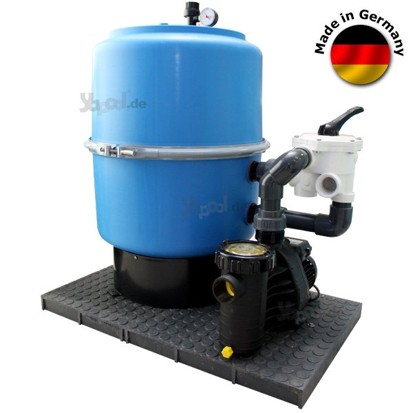 Sandfilteranlage sandfilter sf 400 6 wege aquaplus 8 for Sandfilteranlage
