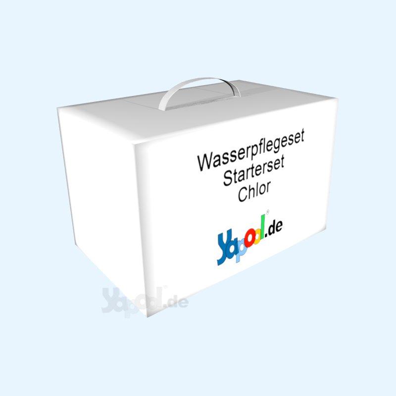 wasserpflege set premium starterset chlor kaufen schwimmbad online shop. Black Bedroom Furniture Sets. Home Design Ideas