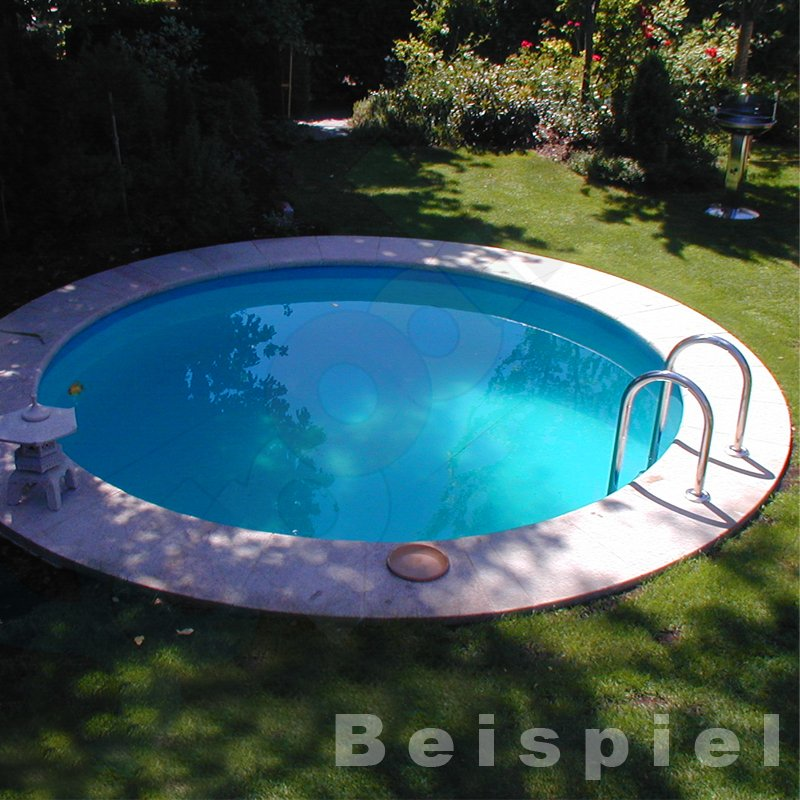Yapool stone ps25 styropor pool schwimmbecken rundbecken for Rundbecken pool