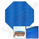 Air cushion liner for summer, UV stabilized PE solar liner with air pockets and solar effect, liner thickness: 400 µ
