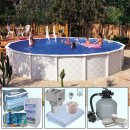 Round Pool  Doughboy Pool Diana Ø 3,60 x 1,32 m - Package Plus 3