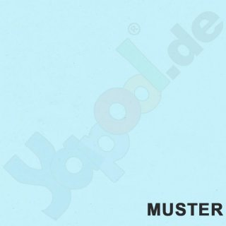 Muster Pool PVC-Folie 0,8 mm hellblau