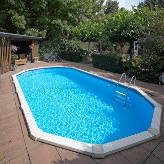 Sehr Ovalbecken Ovalpool Doughboy Pool Diana 7,30 x 3,60 x 1,32 m  YQ21