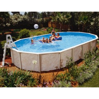 Ovalbecken Ovalpool Doughboy Pool Diana 8,50 x 4,90 x 1,32 m - Paket Plus 3