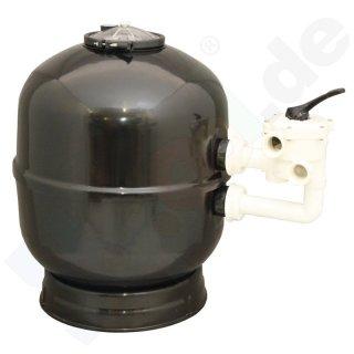 sandfilter praher filterkessel mit 6 wege ventil ohne pumpe schwimmbad online shop. Black Bedroom Furniture Sets. Home Design Ideas