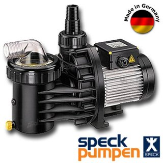 Pool filterpumpe schwimmbad speck pumpe 6m h for Schwimmbecken aufstellbar