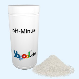 pH Minus Granulat - pH Senker 1.5 kg