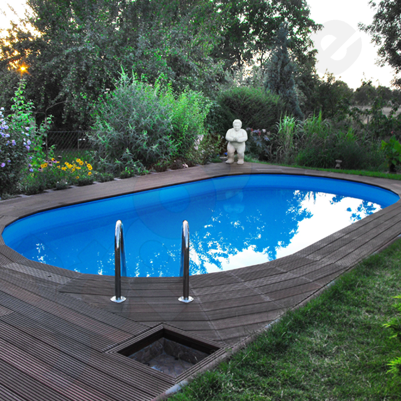 Styrofoam pools oval for Pool oval aufstellbecken