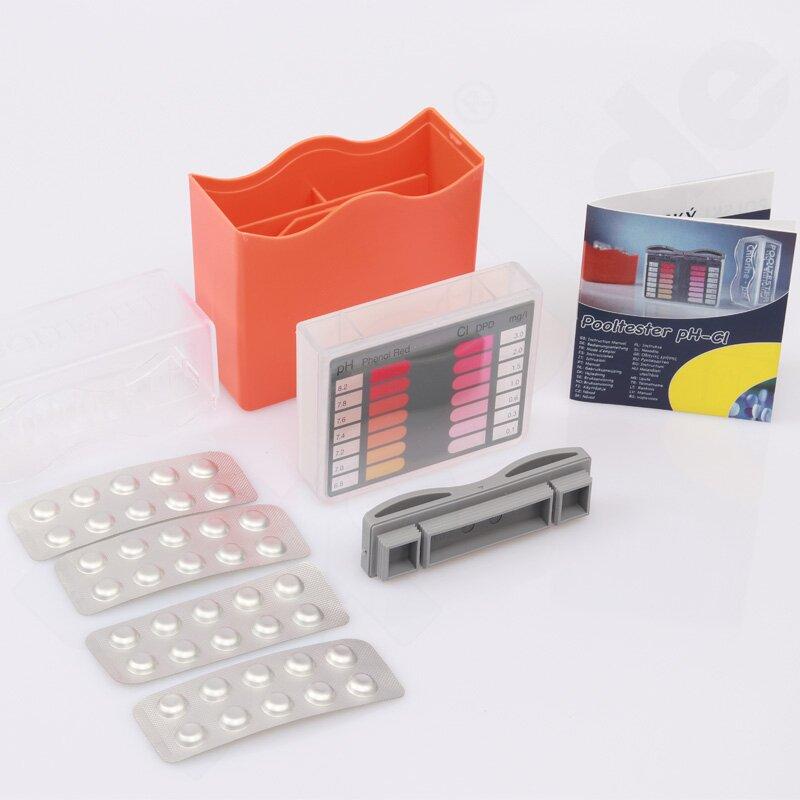 maxi pool tester f r ph chlor brom. Black Bedroom Furniture Sets. Home Design Ideas