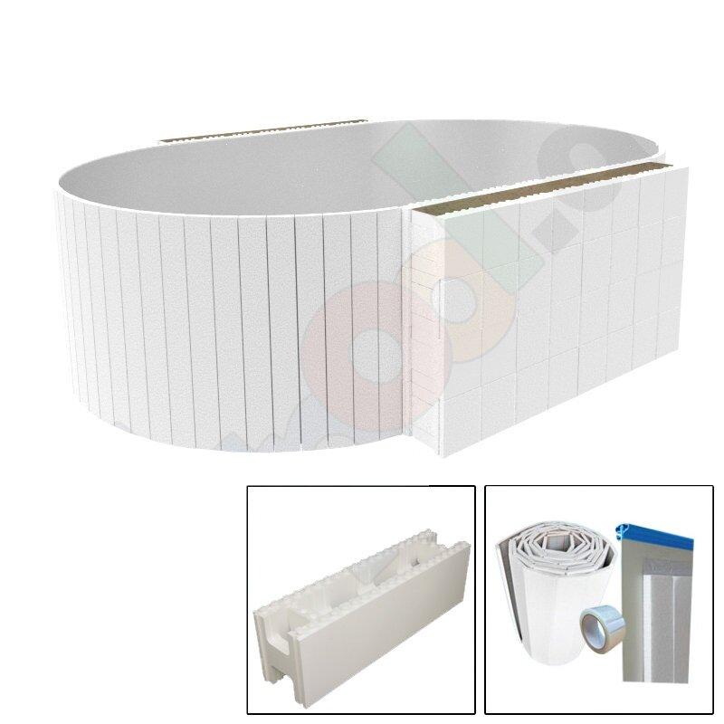 Pool Isolierung Yapool Roll ISO 20 für Rundbecken 6,0 x 1,5 m