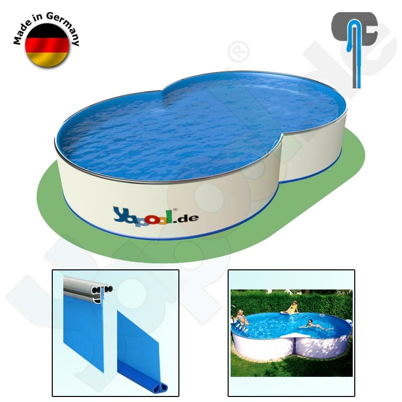 Pool Isolierung Yapool Roll ISO 20 für Achtform 5,25 x 3,2 x 1,2 m