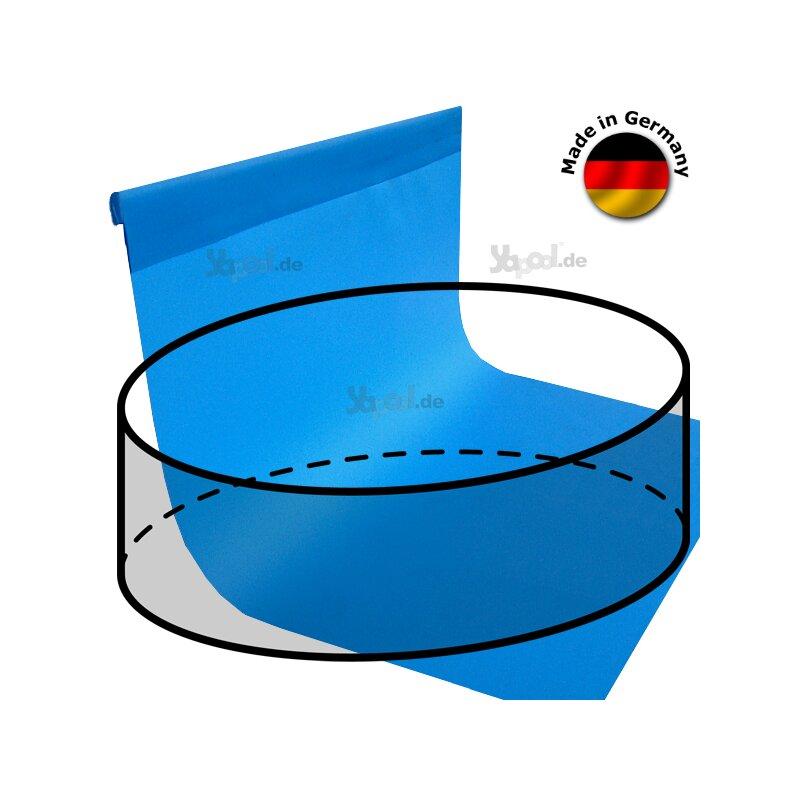 Pool folie innenh lle f r rundbecken 5 0 x 1 5 m typ for Gewebefolie pool