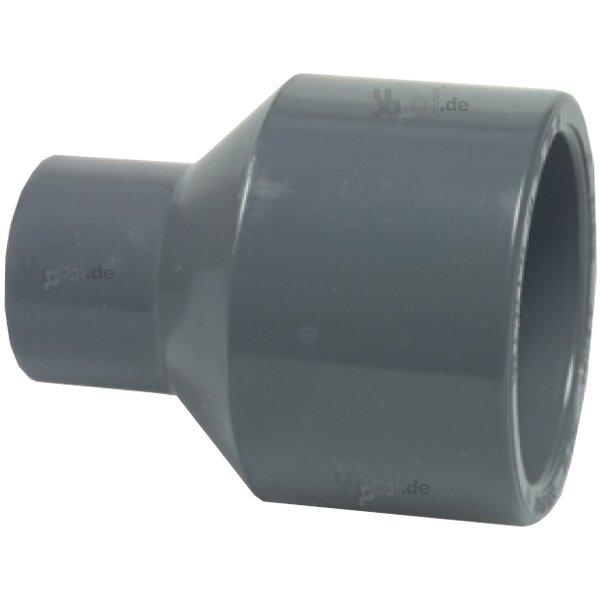 PVC Reduziermuffe Klebeanschluss 63//50 mm x 50 mm