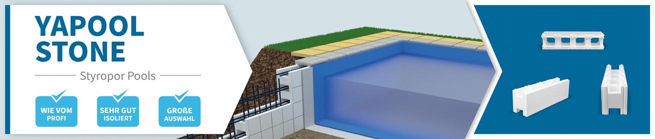 Styropor-Pools zum selberbauen