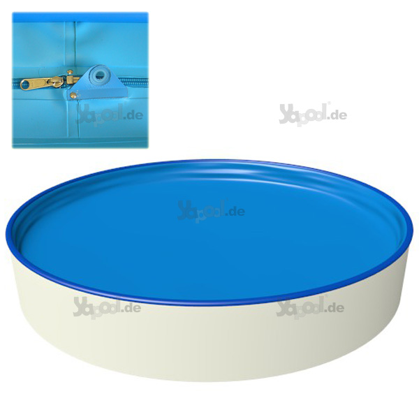 Pool rund 4 m stunning pool m x m set with pool rund 4 m for Pool ersatzfolie rund